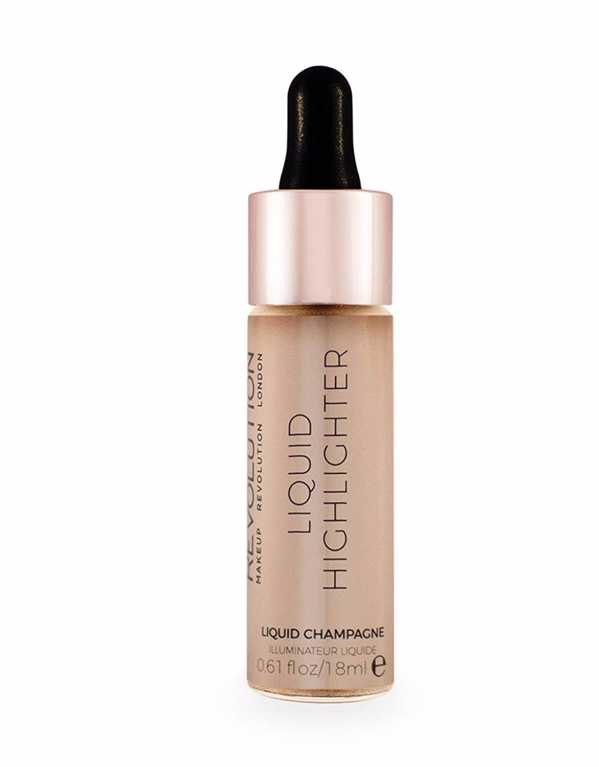 4) Makeup Revolution London Liquid Highlighter - Champagne