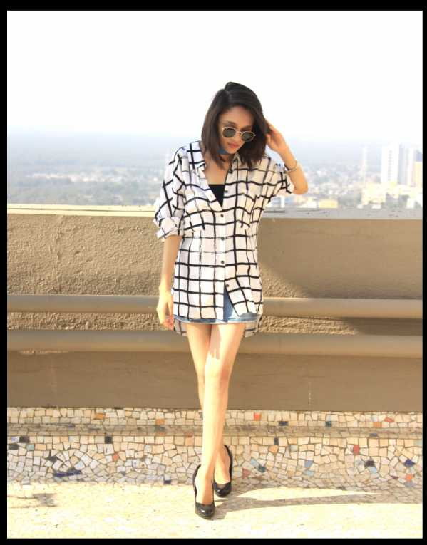 HOW TO STYLE OVERSIZED SHIRT