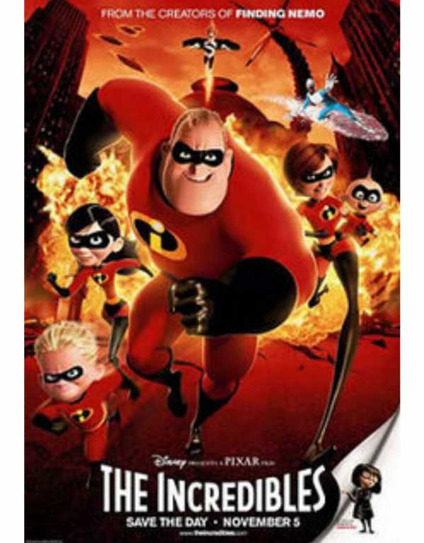 6. The Incredibles