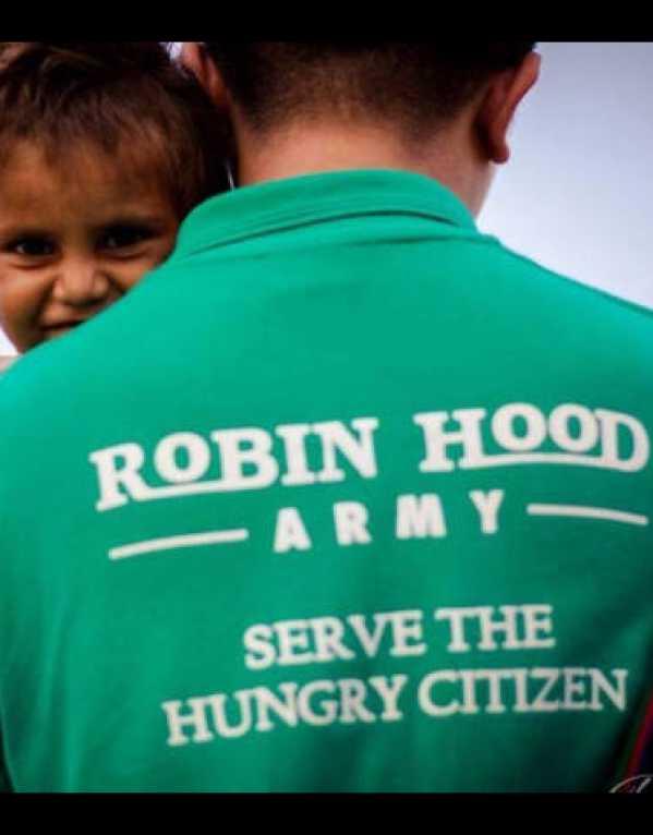 3) Non-Profit organizations - Robin Hood Army