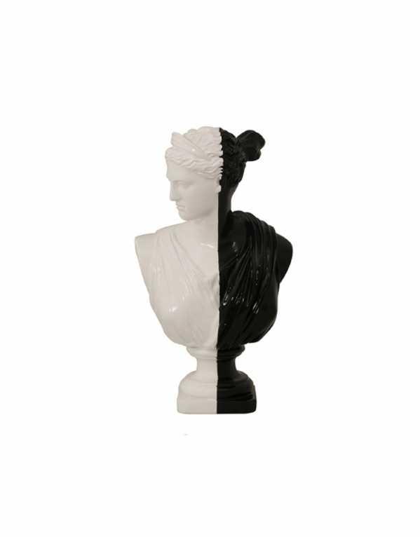 Greek Women Sculpture, Bent Chair, Rs. 3893