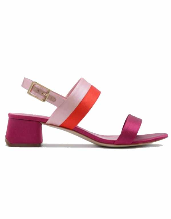 Multocolour Slingback Sandals, Charles & Keith, Rs. 5799