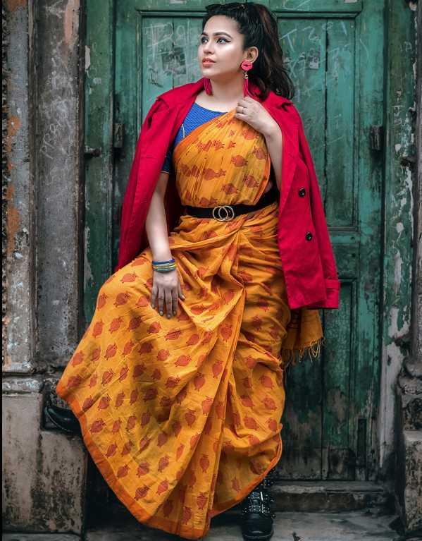 Shayoni| mywingedeyes| Style: Indo-western