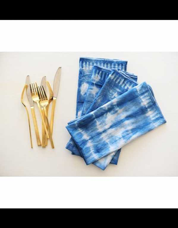 Shibori Table Linen Set