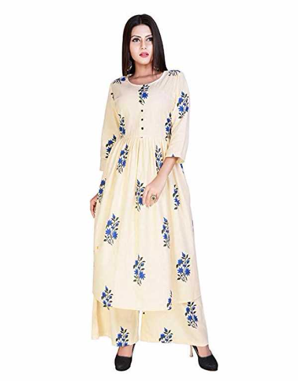 3) Printed Cotton Salwar Suit