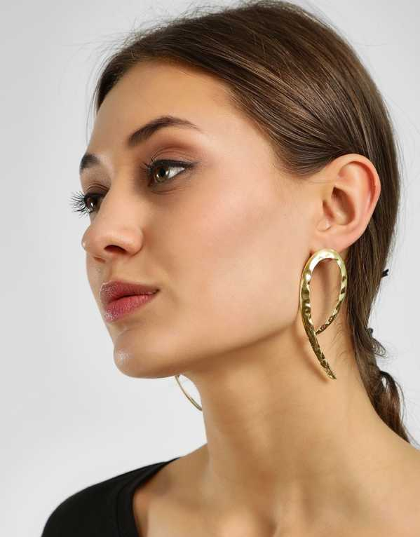 1. Upside Down Structural Earrings