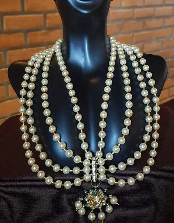Statement traditional mughal necklace jewelry