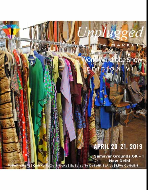 Unplugged - A Flea Market by World Wardrobe Show