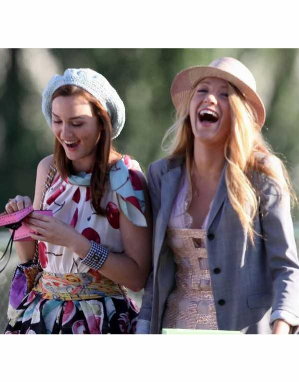 Blair & Serena from Gossip Girl