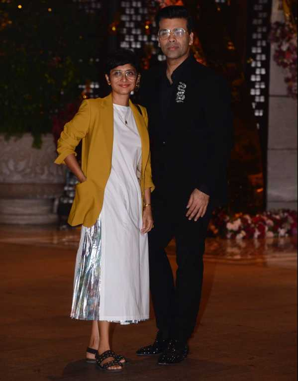 Kiran Rao and Karan Johar