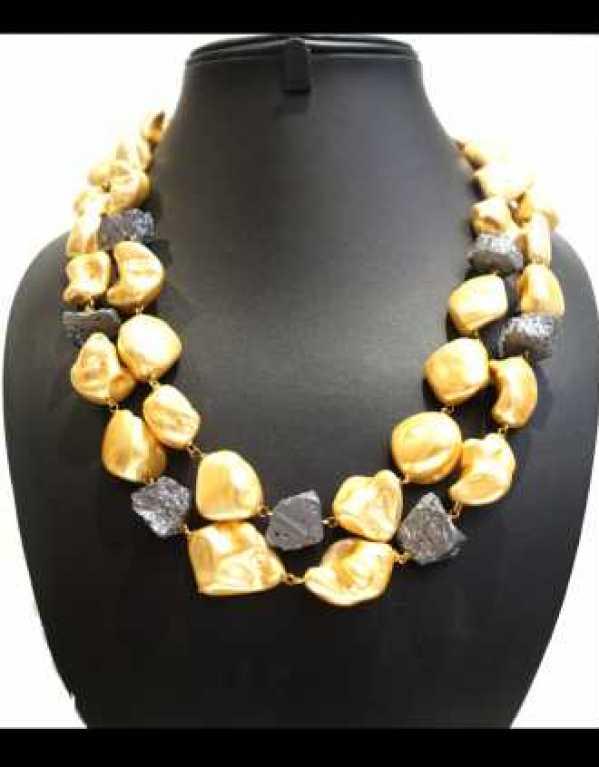 Gulnar Semi precious neckpiece