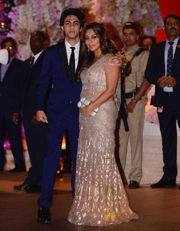 Aryan & Gauri Khan