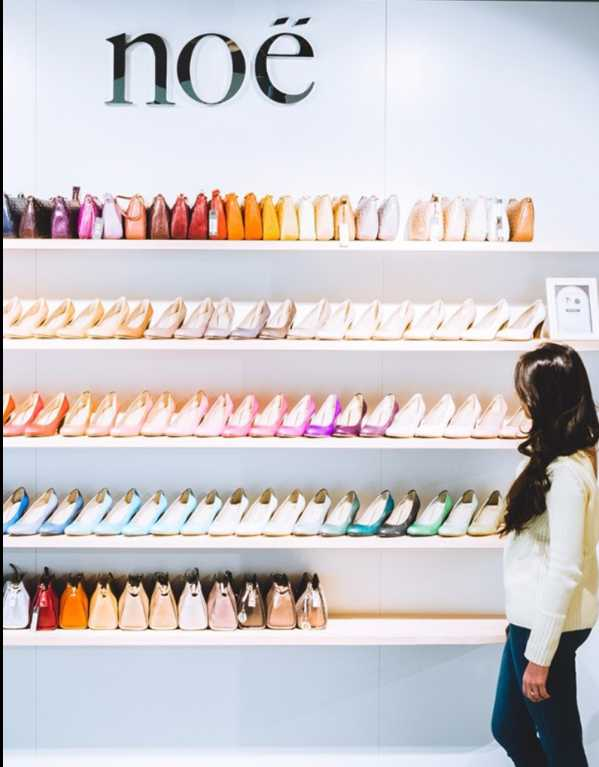 Shoes In 88 Colours At Noe
