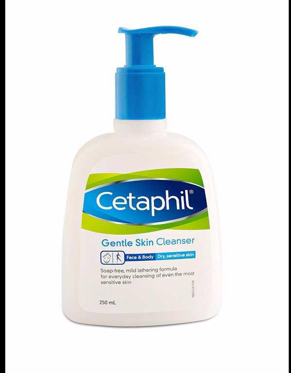 1) The Prep - Cetaphil Gentle Skin Cleanser