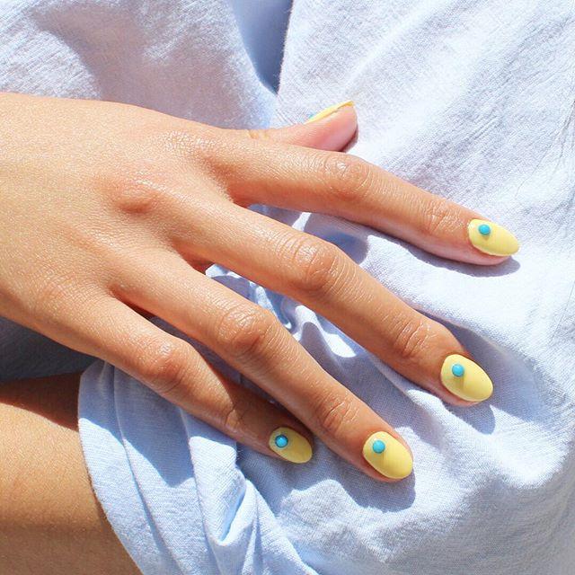 Monsoon nail art ideas