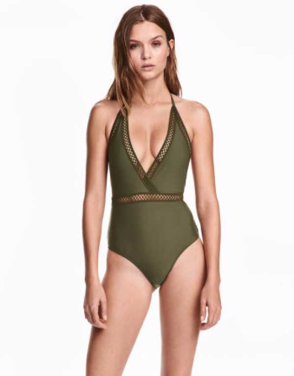 Halter Neck Swimsuit, INR 1999; H&M