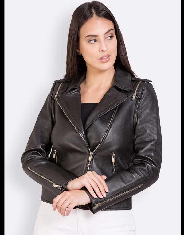 2) Leather Jacket