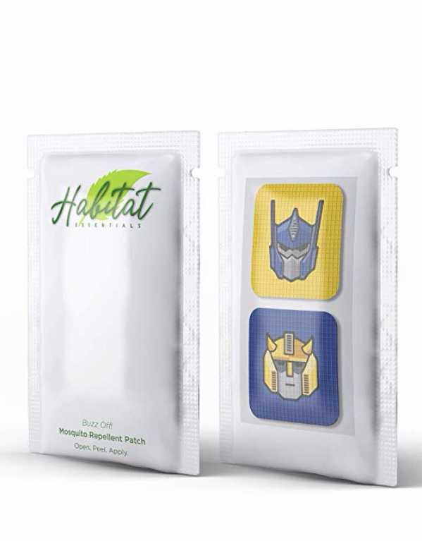 5) Habitat Essentials mosquito repellent patch stickers.
