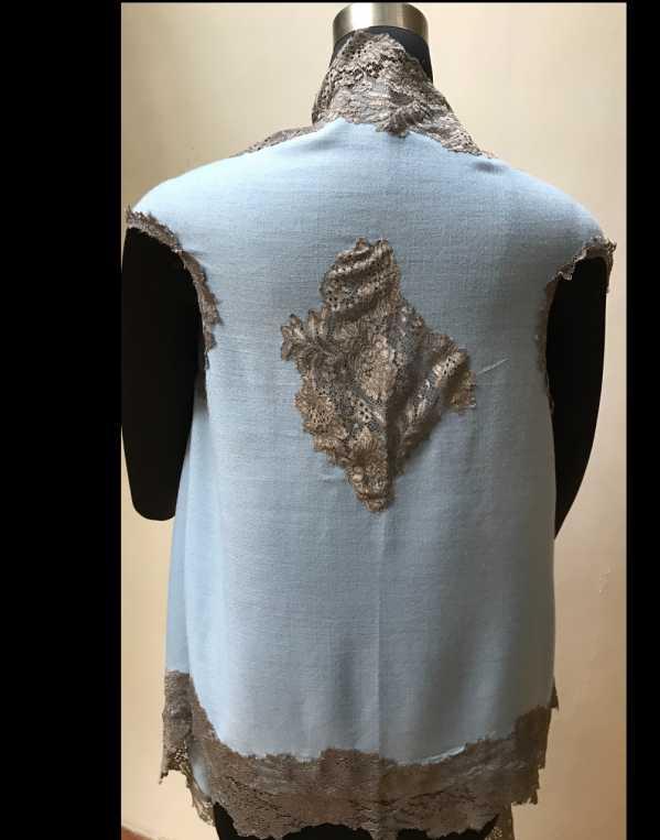 Pure Wool Sleeveless Jacket