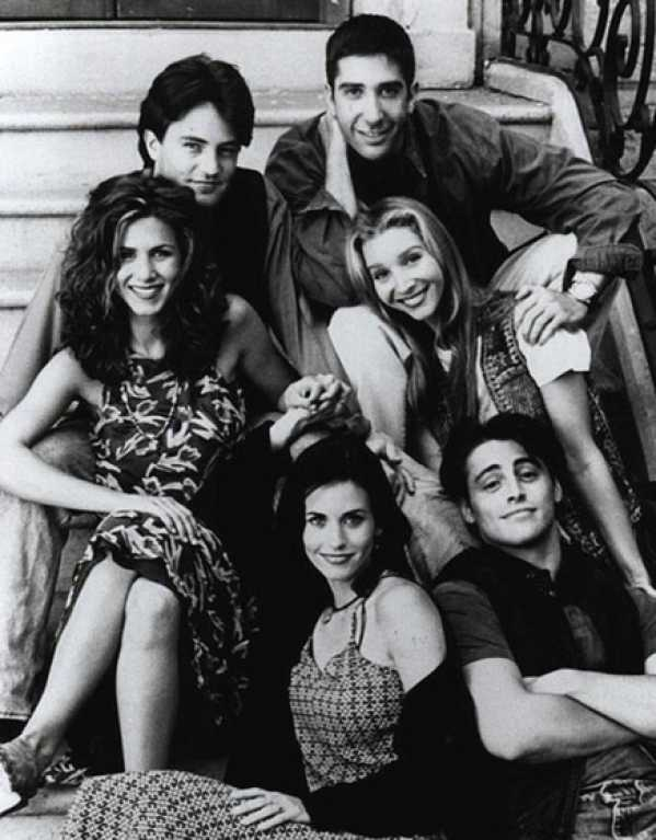 The Gang from from F.R.I.E.N.D.S