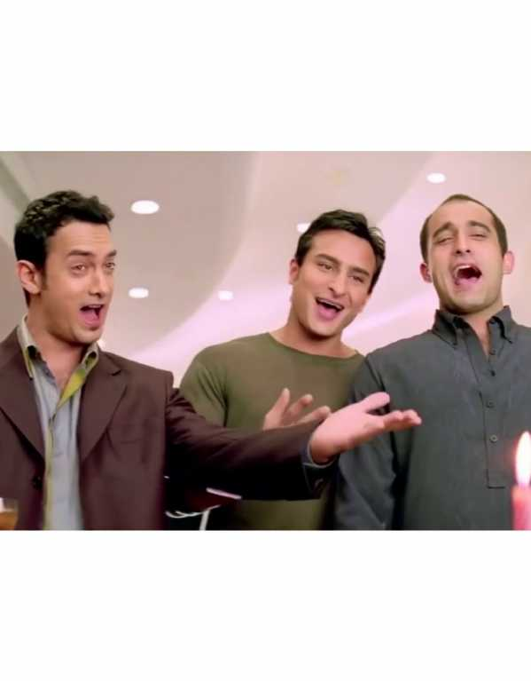 Akash, Sameer & Sid from Dil Chahta Hai