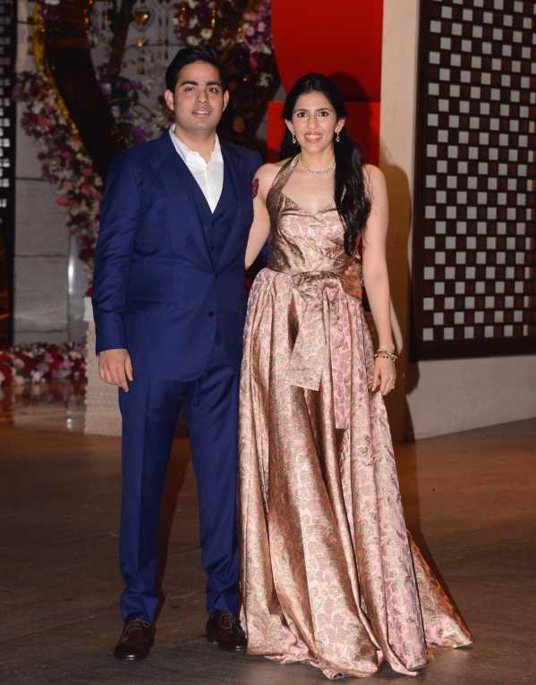 All the Fashion You Need to See from the Akash Ambani-Shloka Mehta Engagement Party