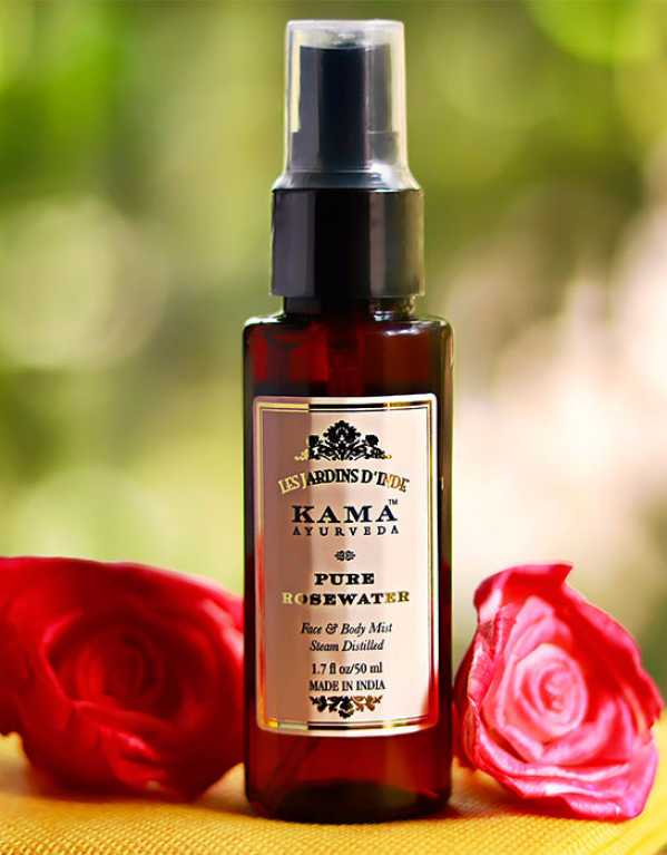 4) Toner - Kama Ayurveda Pure Rose Water