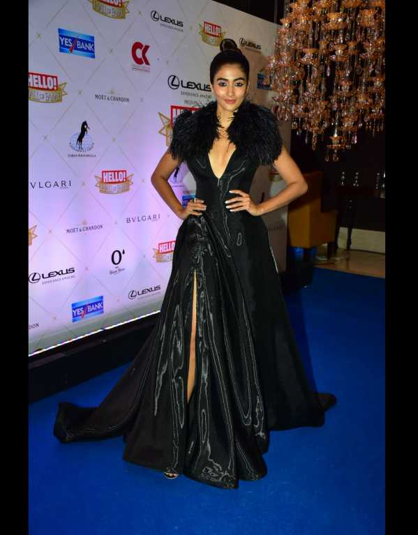 Pooja Hegde looking edgy and sexy in a risque Dolly J dress