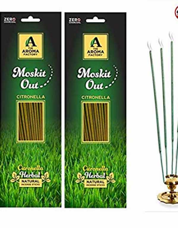 4) The Aroma Factory Citronella Garden Incense Stick