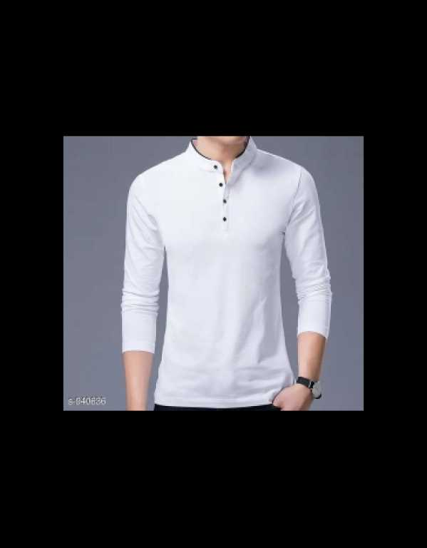 Polyester and cotton t shirts