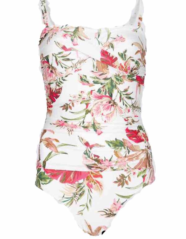 Secret Slimming Floral Print Multiway Swimsuit, Marks & Spencer, Rs.2,767