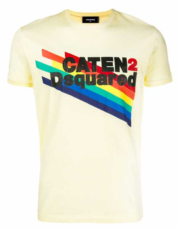 Logo Patch T-shirt, Dsquared2, Rs.18,370