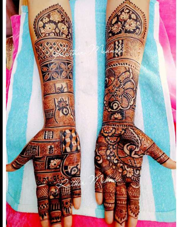 5. Rathor mehndi artist