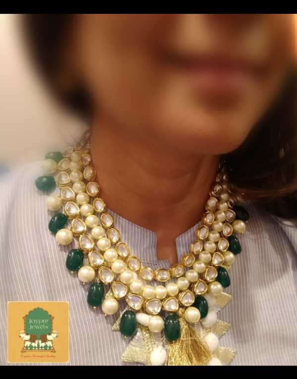 Statement necklaces and 92.5 Silver earrings