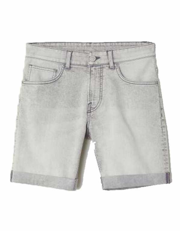 Skinny Denim Shorts, H&M, Rs.1499