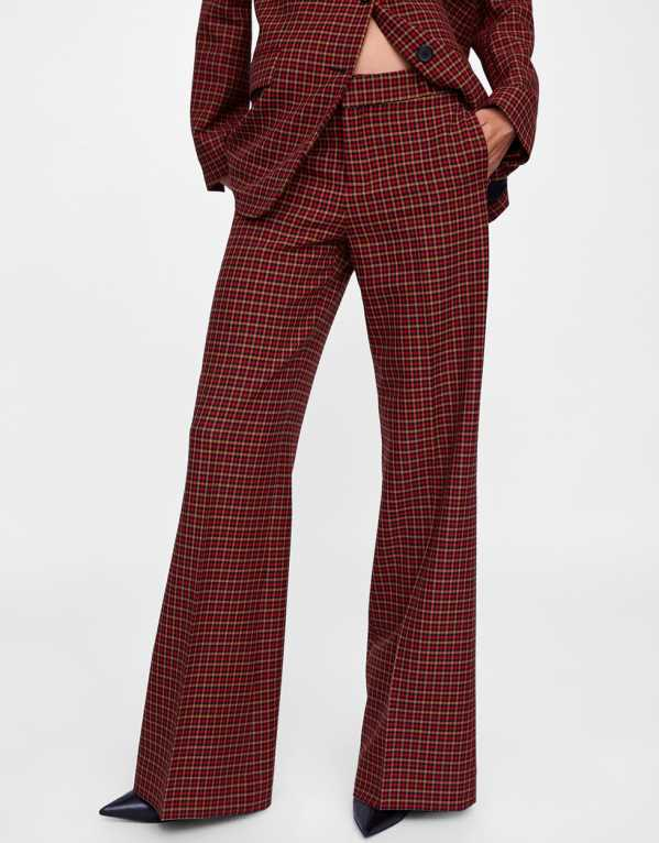 Check Masculine Trousers, Zara; Rs. 3990