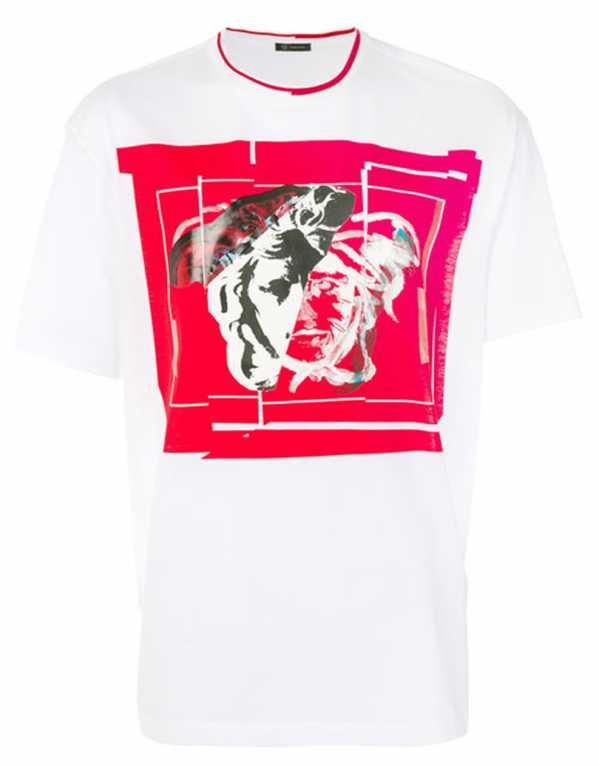 Logo Print T-shirt, Versace, Rs. 40,772