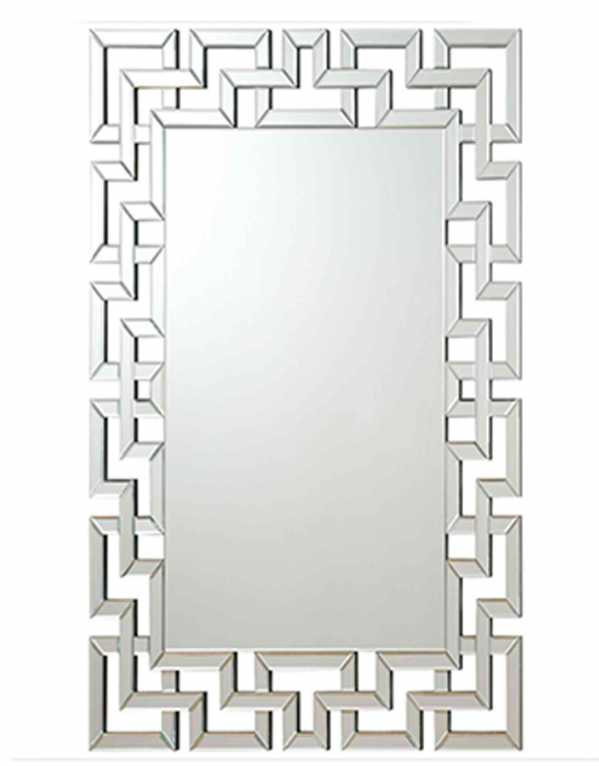Modern Rectangle Mirror, Inde Gallery, Rs. 12,150