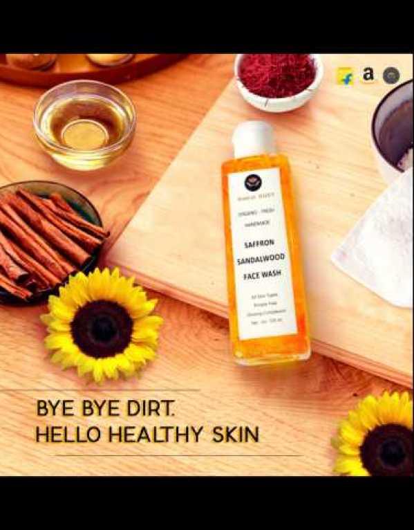 Saffron Sandalwood Face Wash