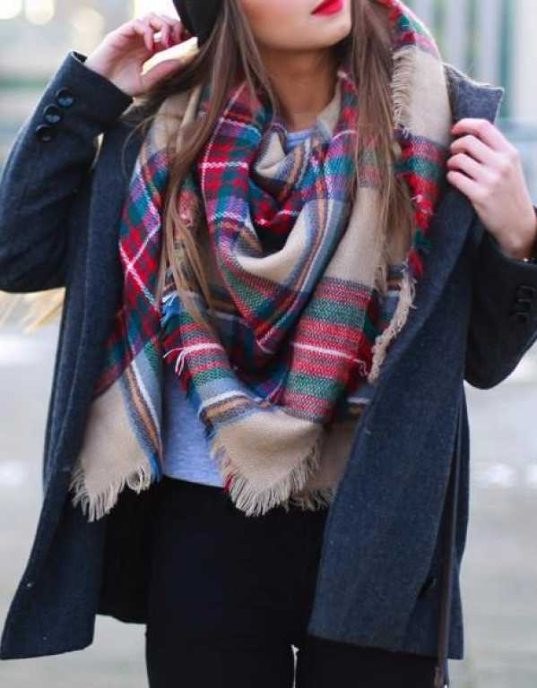4) Don't forget a scarf!