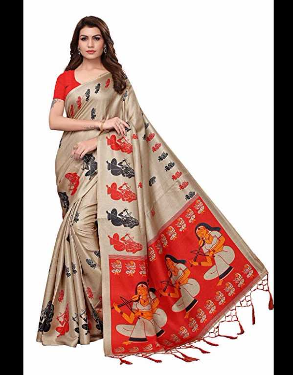 2) Silk Saree