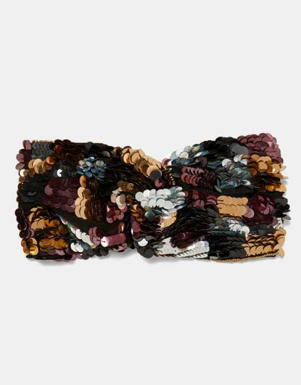Sequinned Head Band, Zara; Rs.1,490