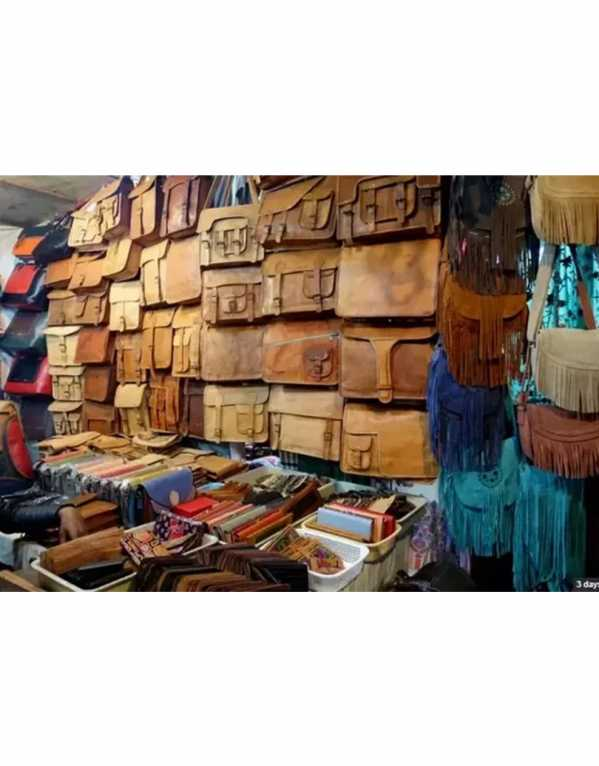 leather budget markets delhi