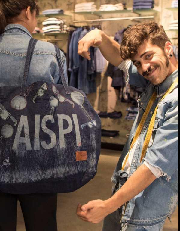 Custom Engraved Denim At Pepe Jeans
