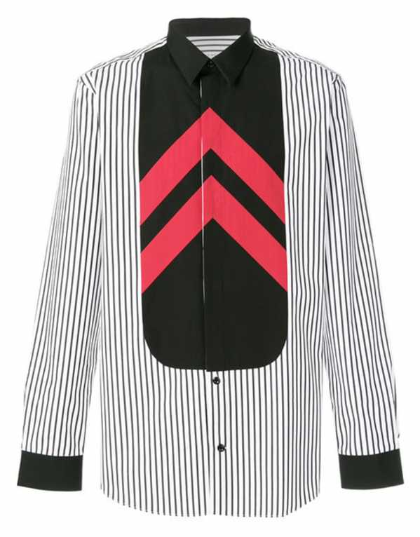Colour Block Shirt, Givenchy; Rs. 59,103