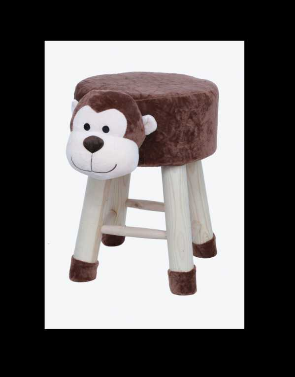 Animal face kids stools