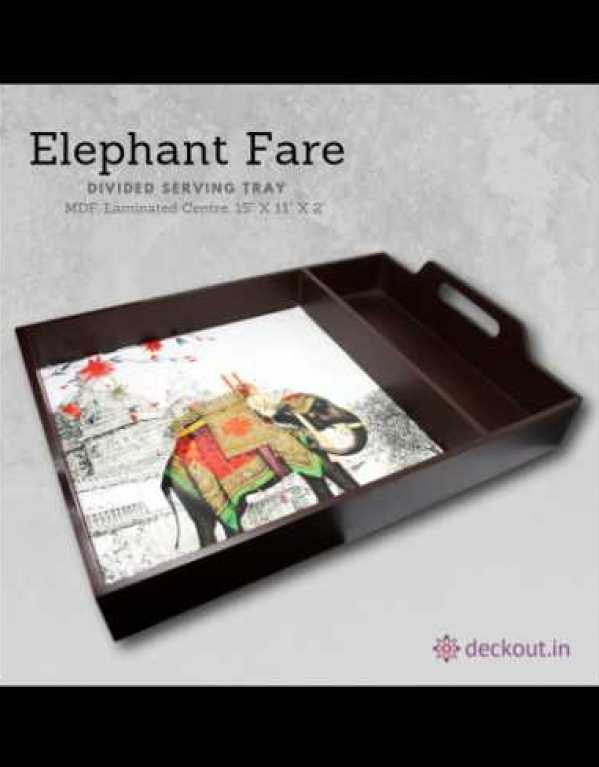Elephant Fare Serving Tray