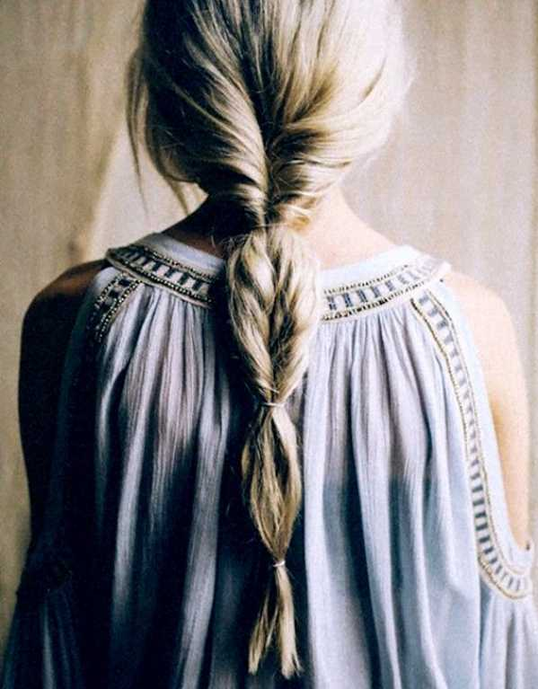 Inverted Faux Braids