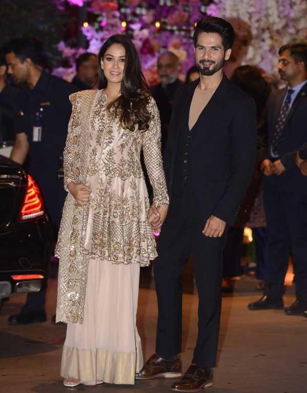 Mira Rajput & Shahid Kapoor