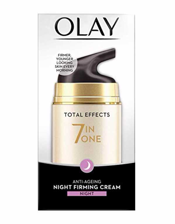 1) Olay Total Effects 7 In One Anti-Aging Night Firming Treatment